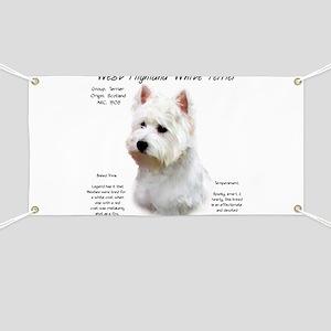 West Highland White Terrier Banner