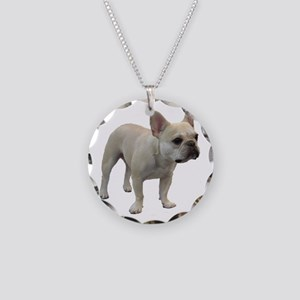 Full Body Ted Necklace Circle Charm