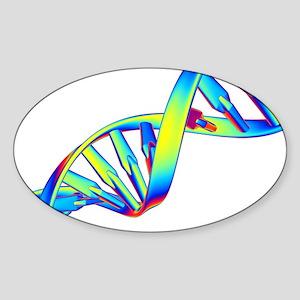DNA Sticker (Oval)