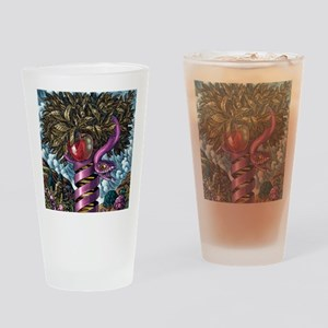 DNA as the Tree of Knowledge Drinking Glass