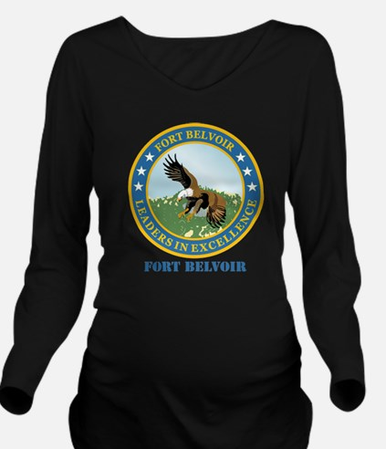 Fort Belvoir with Te Long Sleeve Maternity T-Shirt