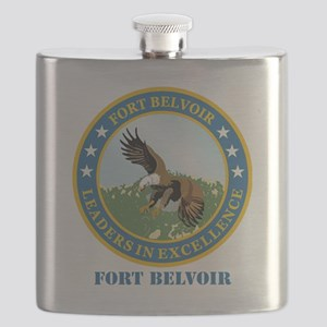 Fort Belvoir with Text Flask