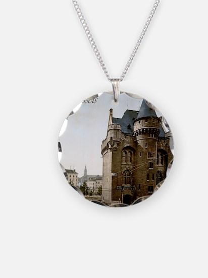 Vintage Brussels Porte de Ha Necklace