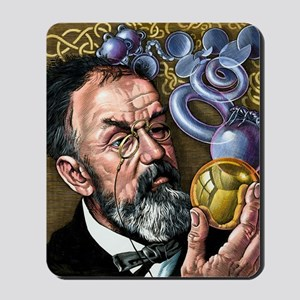Henri Poincare, French mathematician Mousepad
