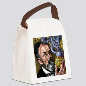 Henri Poincare, French mathematic Canvas Lunch Bag
