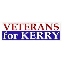 Veterans for Kerry (bumper sticker)