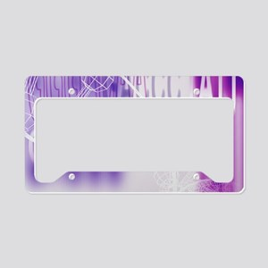 DNA and genetic code License Plate Holder