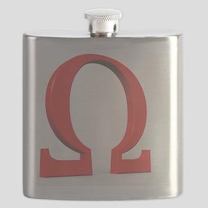 Greek letter Omega, upper case Flask