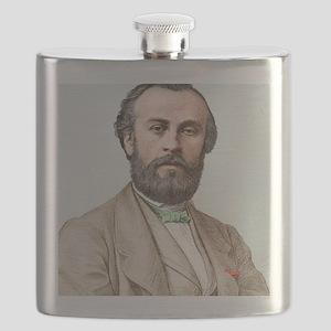 Henri Giffard, French engineer Flask