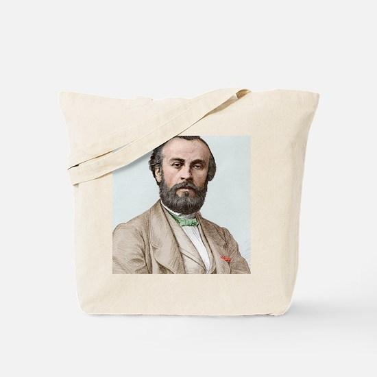 Henri Giffard, French engineer Tote Bag