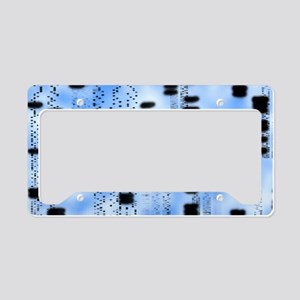 Artwork of an autoradiogram s License Plate Holder