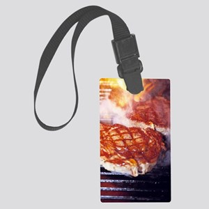 Barbecue Large Luggage Tag