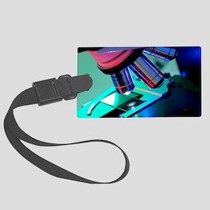 Light microscope Large Luggage Tag