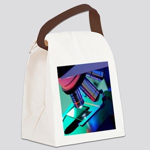 Light microscope Canvas Lunch Bag
