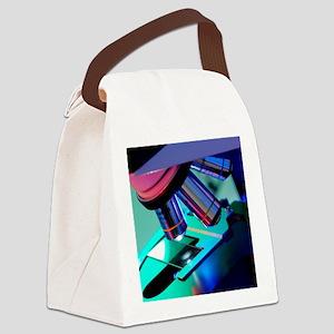 Light microscope Canvas Lunch Bag