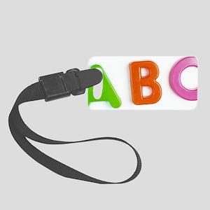 Alphabet Small Luggage Tag