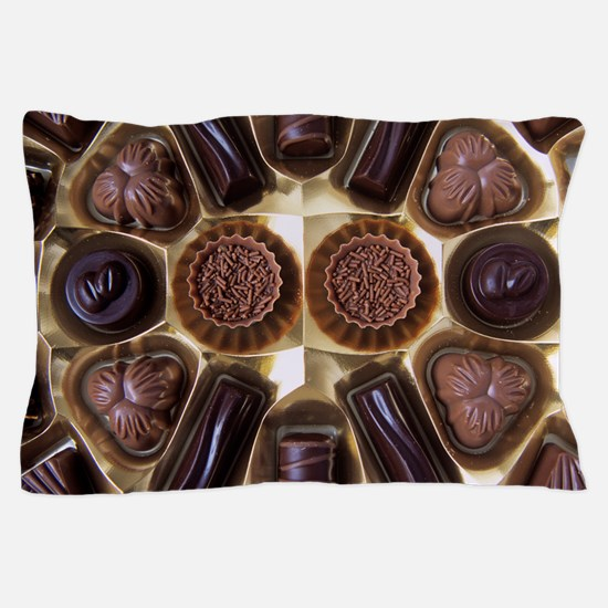Assorted chocolates Pillow Case