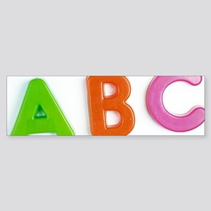 Alphabet Sticker (Bumper)