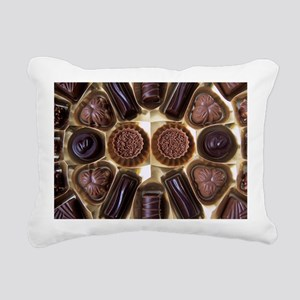 Assorted chocolates Rectangular Canvas Pillow