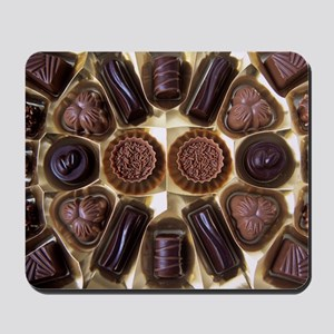 Assorted chocolates Mousepad