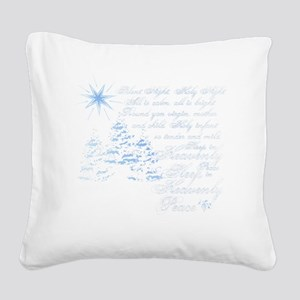 Silent night Square Canvas Pillow