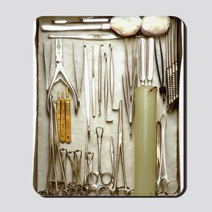 Instruments used in orthopedic surgery Mousepad