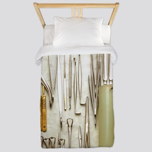 Instruments used in orthopedic surgery Twin Duvet