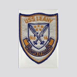 uss leahy dlg patch transparent Rectangle Magnet