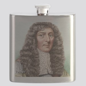 John Aubrey, English archaeologist Flask