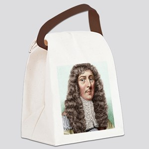 John Aubrey, English archaeologis Canvas Lunch Bag