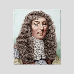 John Aubrey, English archaeologist Throw Blanket