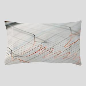 Lie detector traces Pillow Case