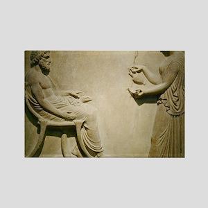 Aesculapius, Roman god Rectangle Magnet