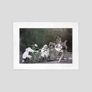 Lealtad - Francisco Goya - c1825 5'x7'Area Rug