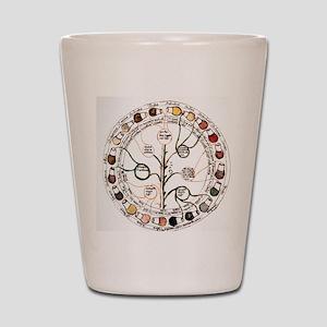 Medieval urine wheel Shot Glass