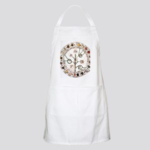 Medieval urine wheel Apron