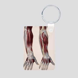 Muscles of the hand and fo Aluminum Photo Keychain