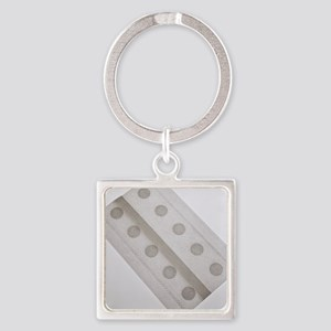 Allergy patch test Square Keychain