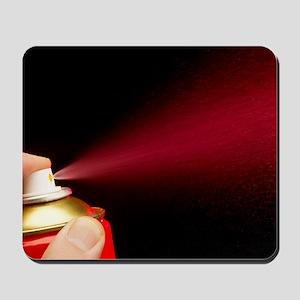 Aerosol paint can Mousepad