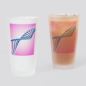 DNA helix Drinking Glass