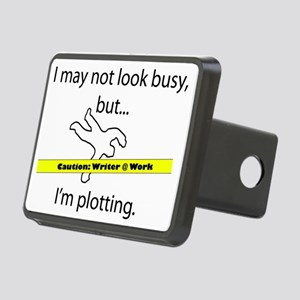 Beware: Plotting Writer Rectangular Hitch Cover