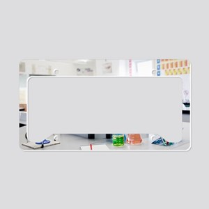 Science classroom License Plate Holder