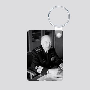 Aksel Berg, Soviet admiral Aluminum Photo Keychain