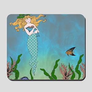 Vintage Mermaid Mousepad