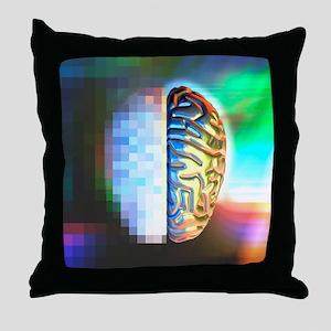 Alzheimer's disease Throw Pillow