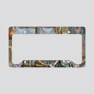 Alexander of Macedon and Aris License Plate Holder