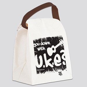 You Down With UKE? Canvas Lunch Bag