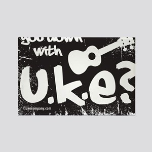 You Down With UKE? Rectangle Magnet