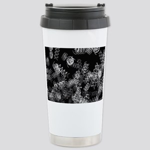 DNA helices Stainless Steel Travel Mug