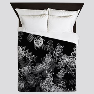 DNA helices Queen Duvet